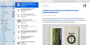 Novo NetNewsWire para Mac