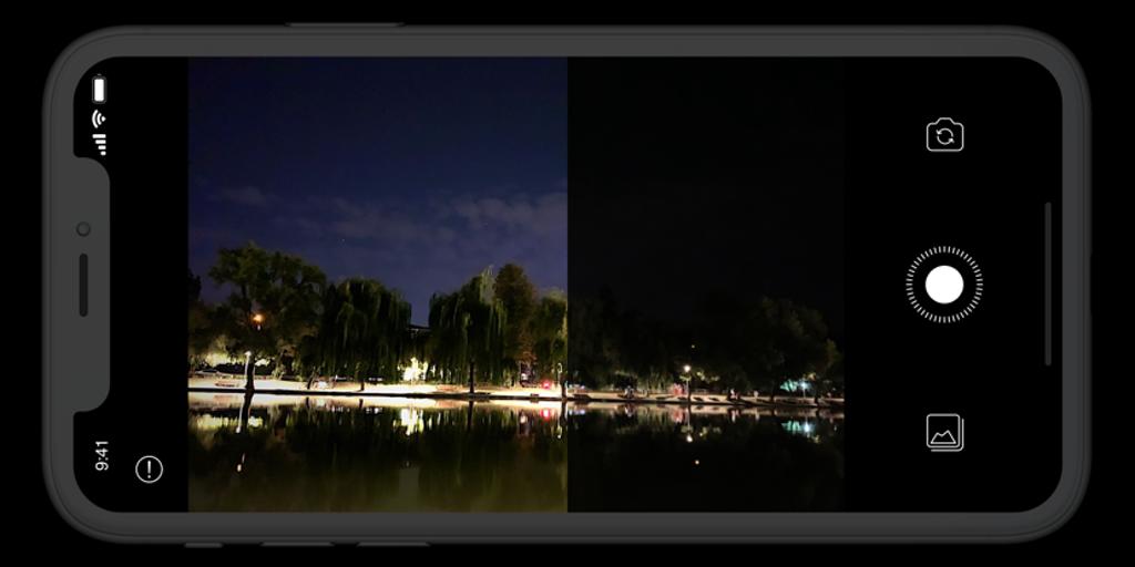 Neural Cam, para fotos no escuro no iPhone