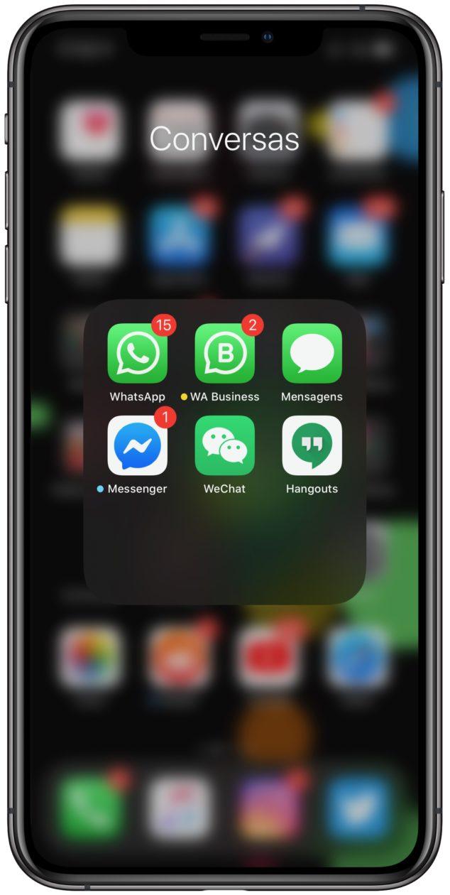 Apps do TestFlight no iOS 13.1