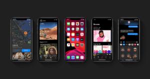 Prévia do iOS 13