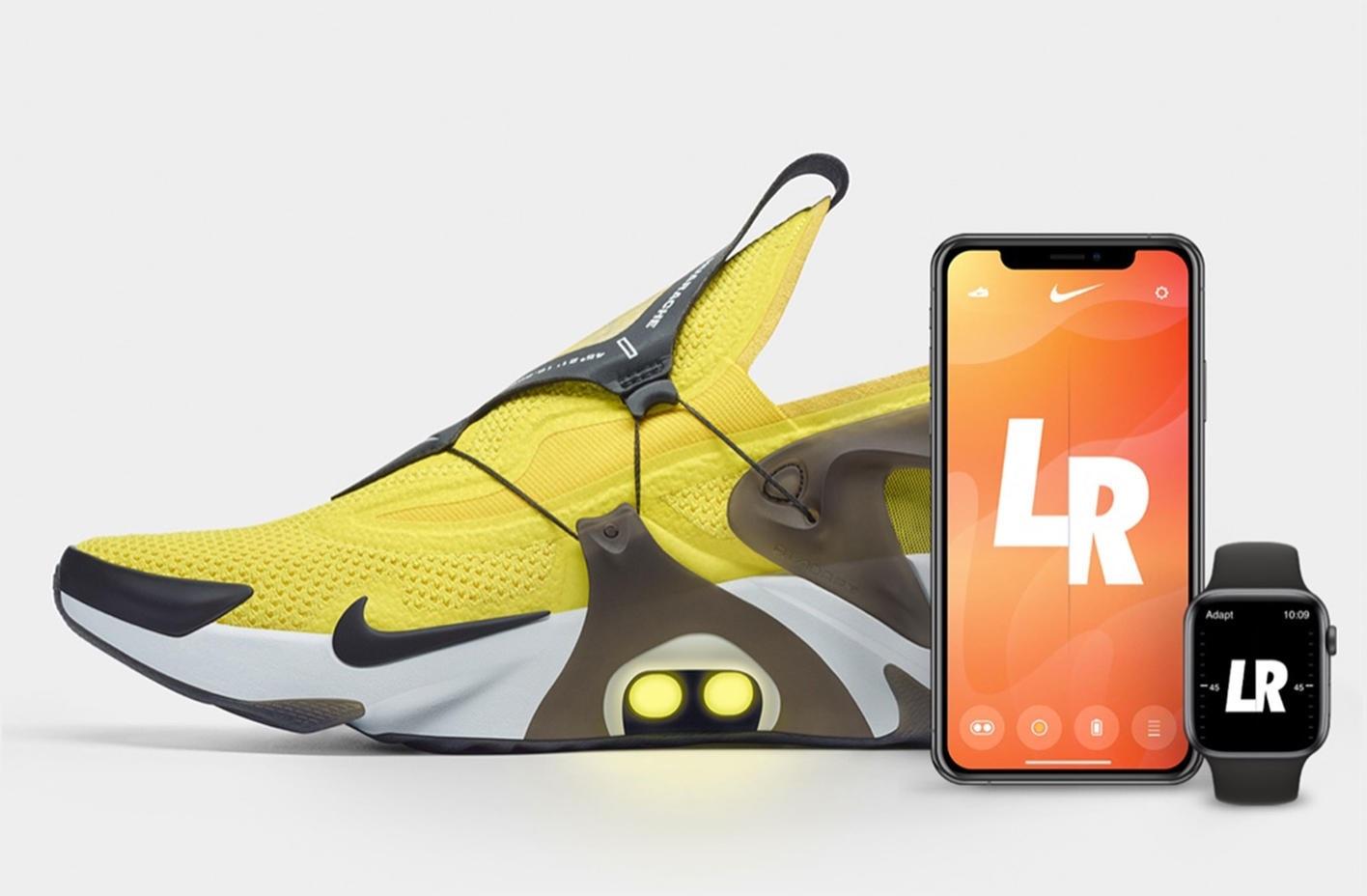 Nike Adapt Huarache, tênis inteligente com cadarços amarrados pela Siri ou Apple Watch