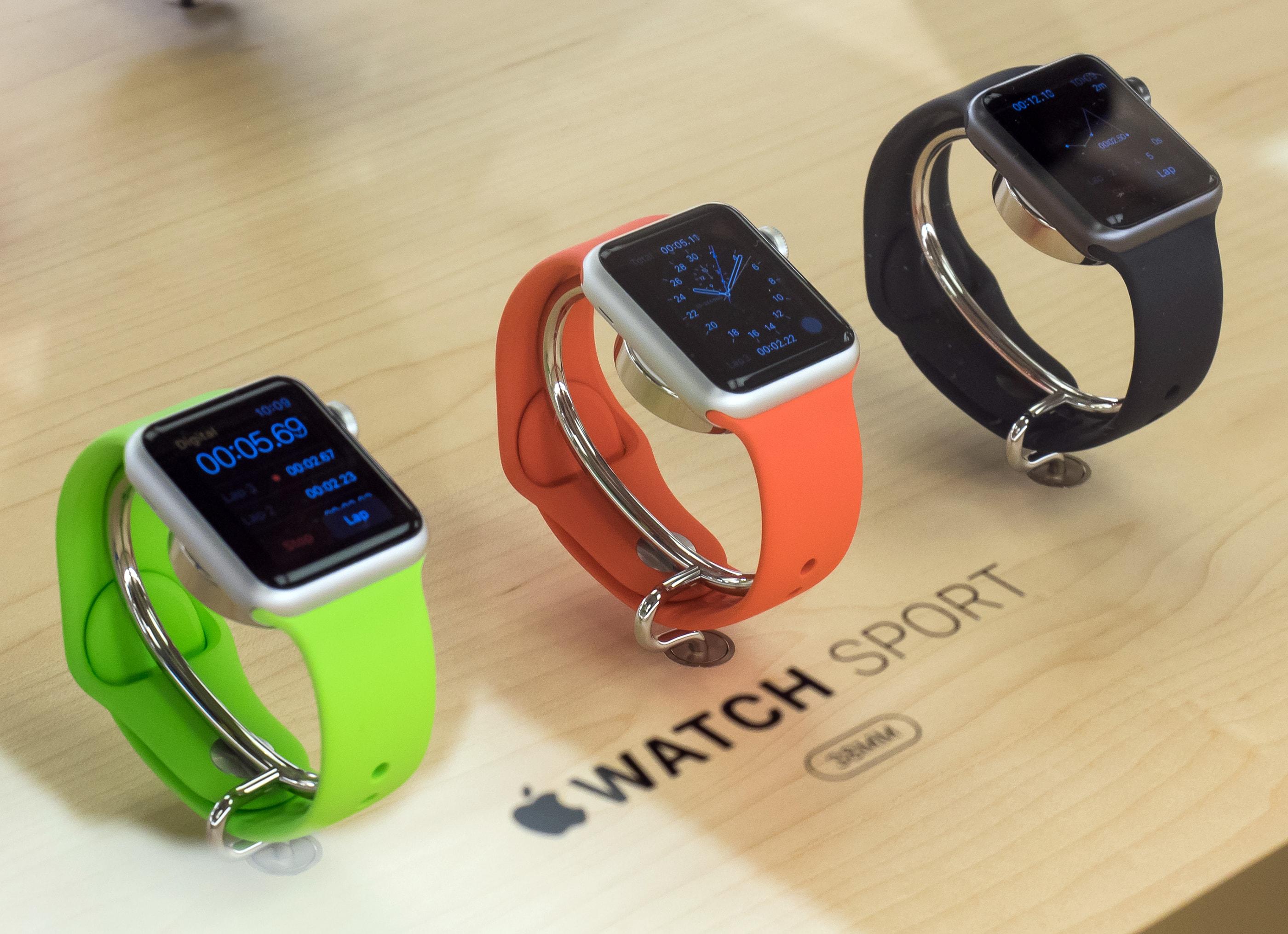 Apple Watches Sport à venda