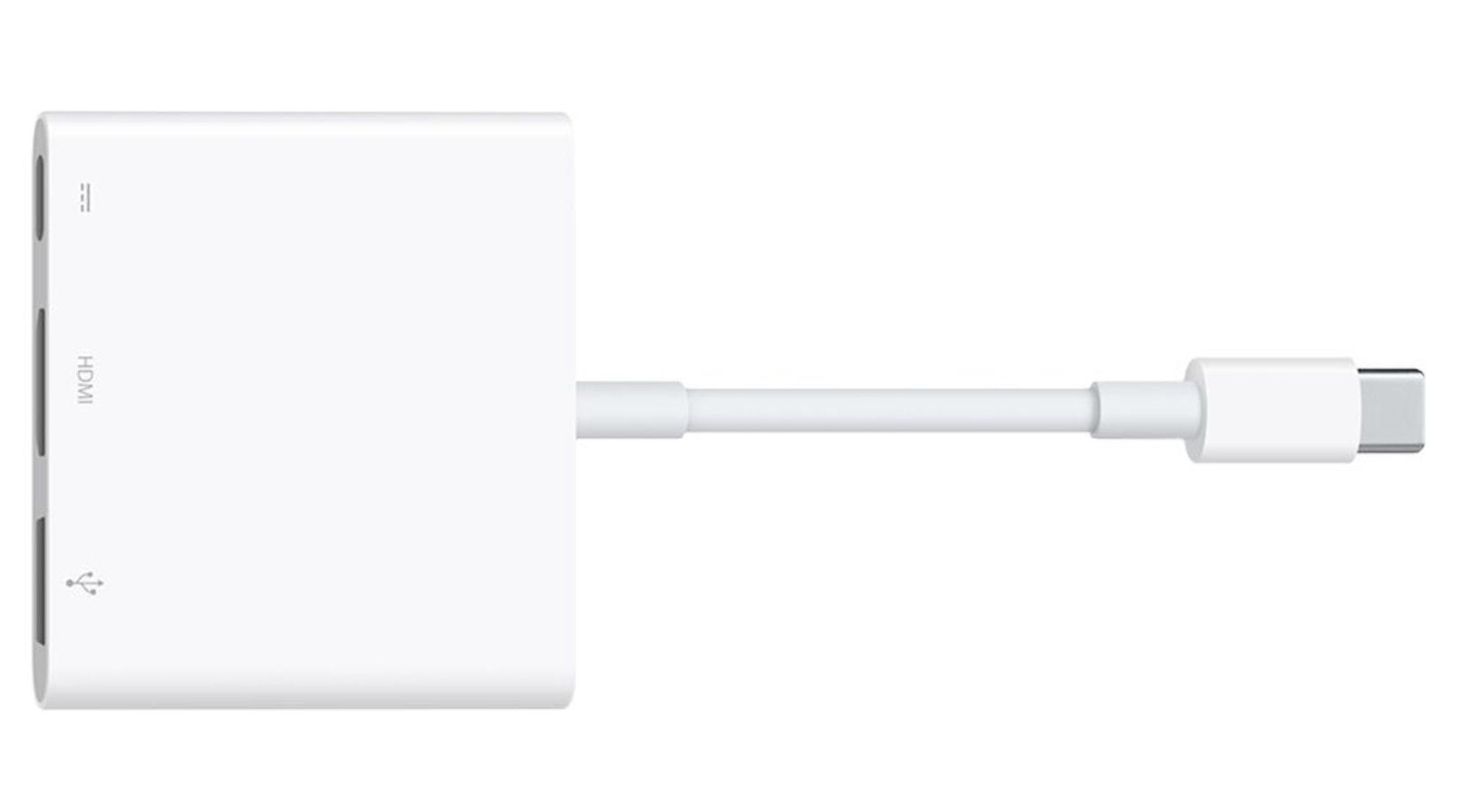 Adaptador USB-C para AV digital multiporta