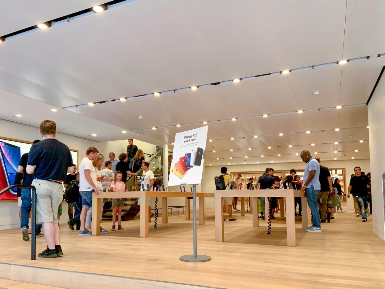 Térreo da Apple Rennweg