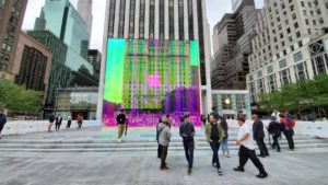 Cubo de vidro da Apple Fifth Avenue