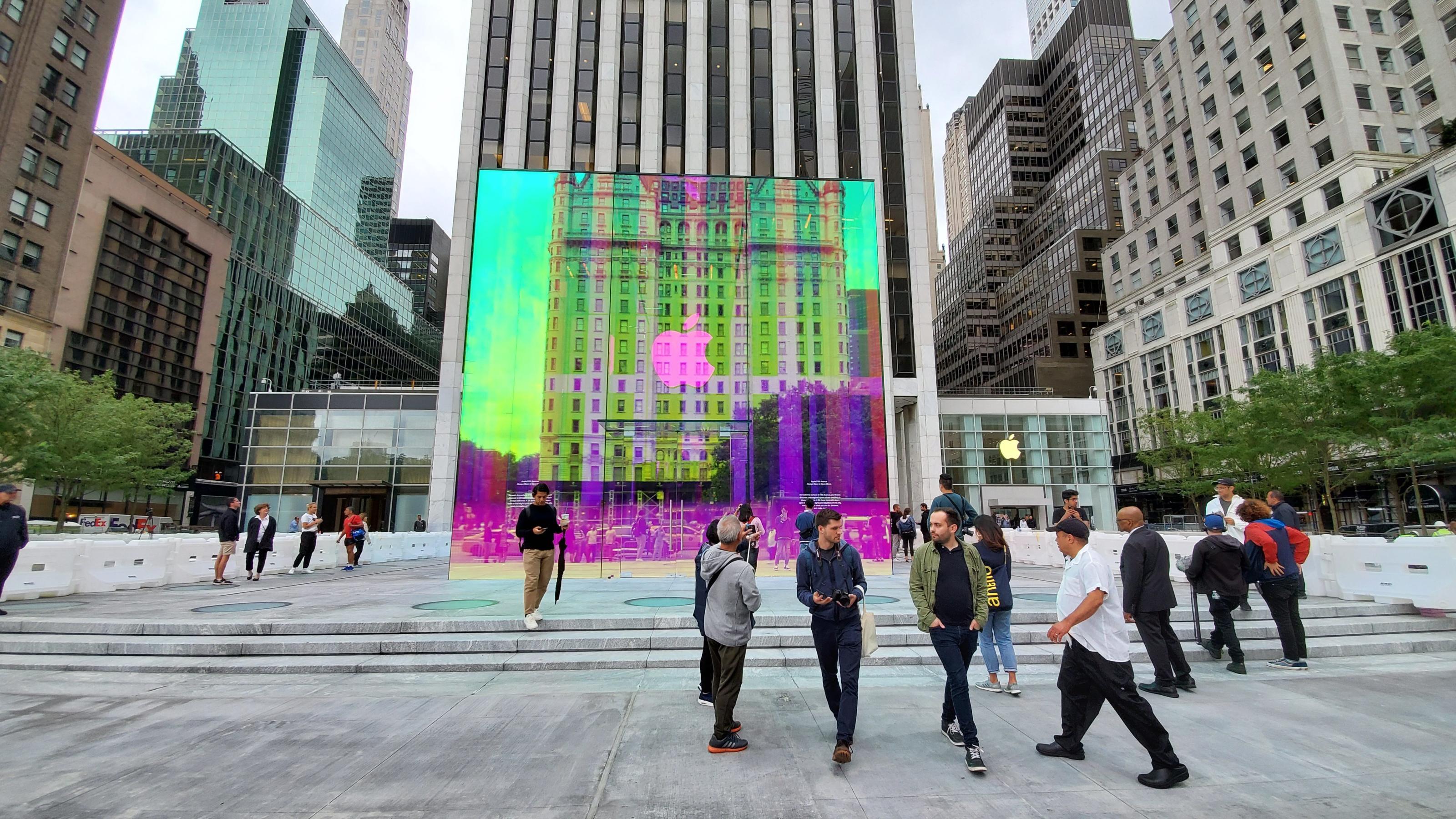 Cubo de vidro da Apple Fifth Avenue