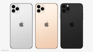 Logo da Apple centralizado nos novos iPhones