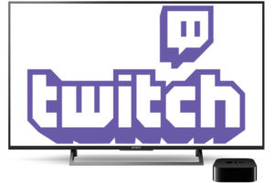 Twitch na Apple TV