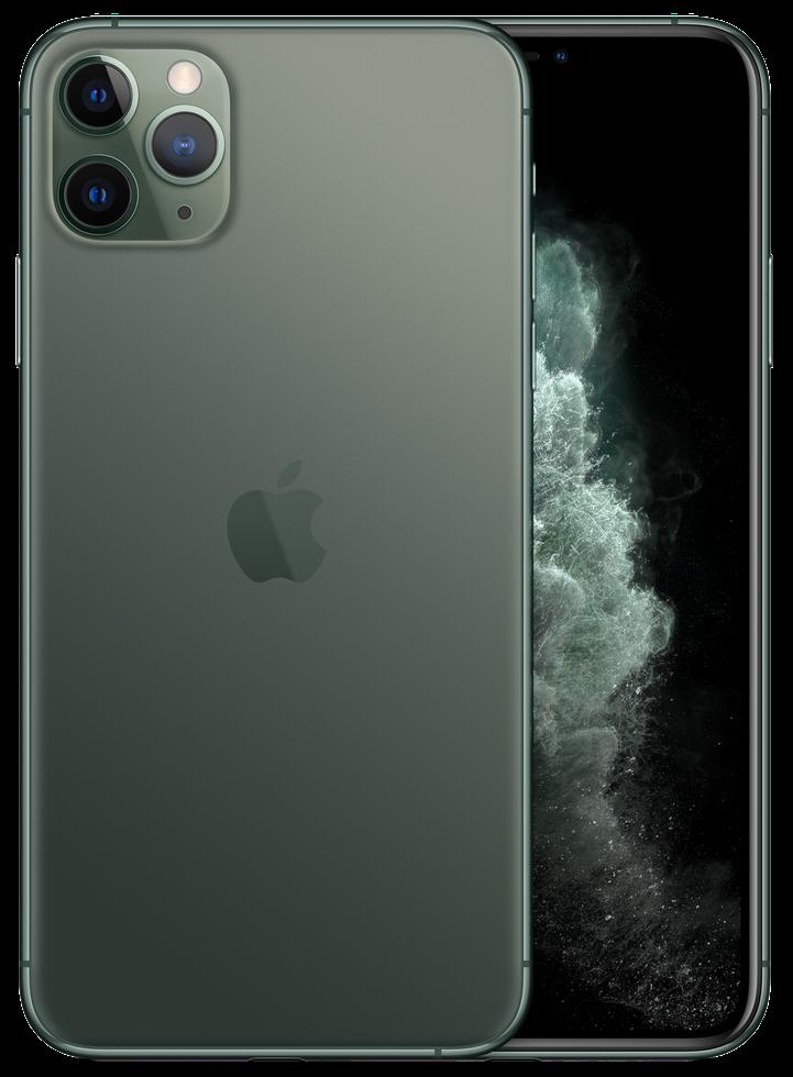 iPhone 11 Pro verde meia-noite