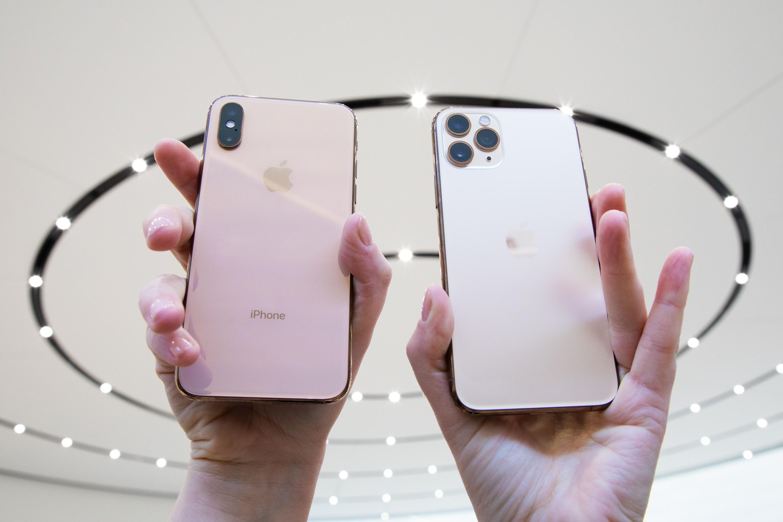 iPhone XS Max e iPhone 11 Pro Max