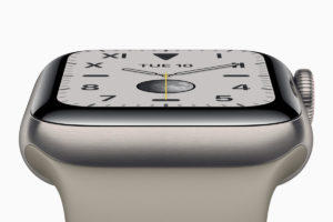 Apple Watch Series 5 de titânio