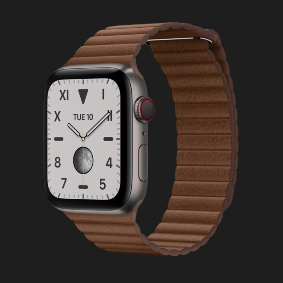 Apple Watch Series 5 de titânio