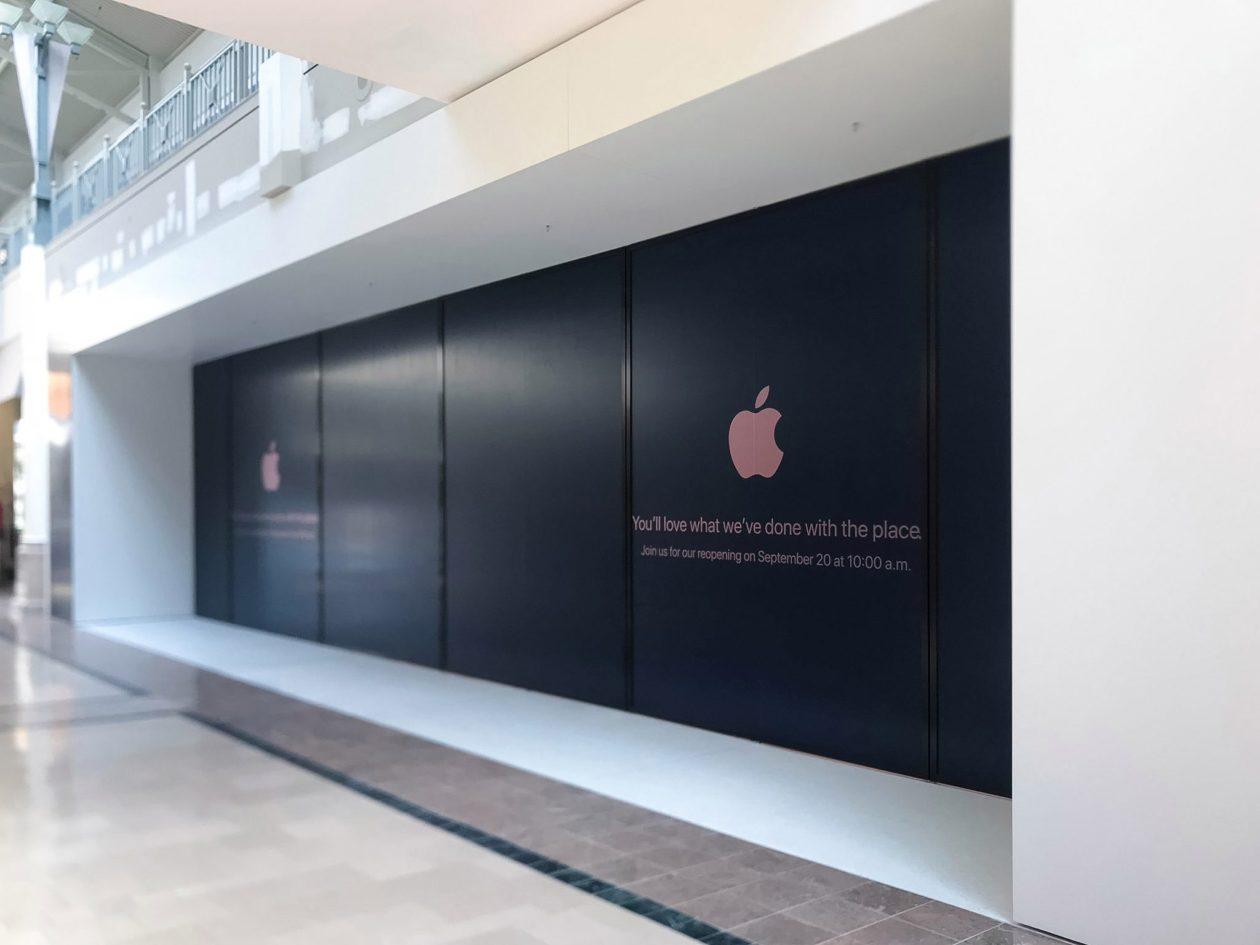 Fachada da Apple Bridgewater