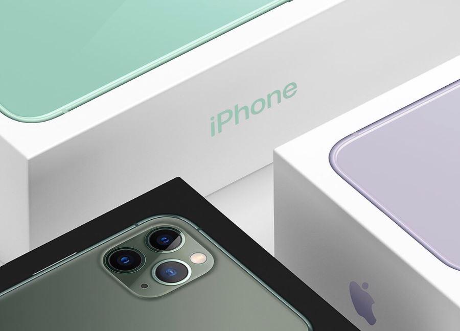 Caixas dos iPhones 11 e 11 Pro