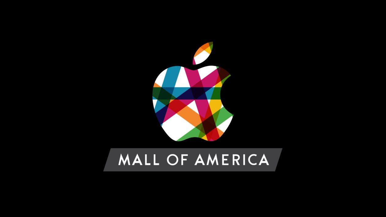 Logo da Apple Mall of America