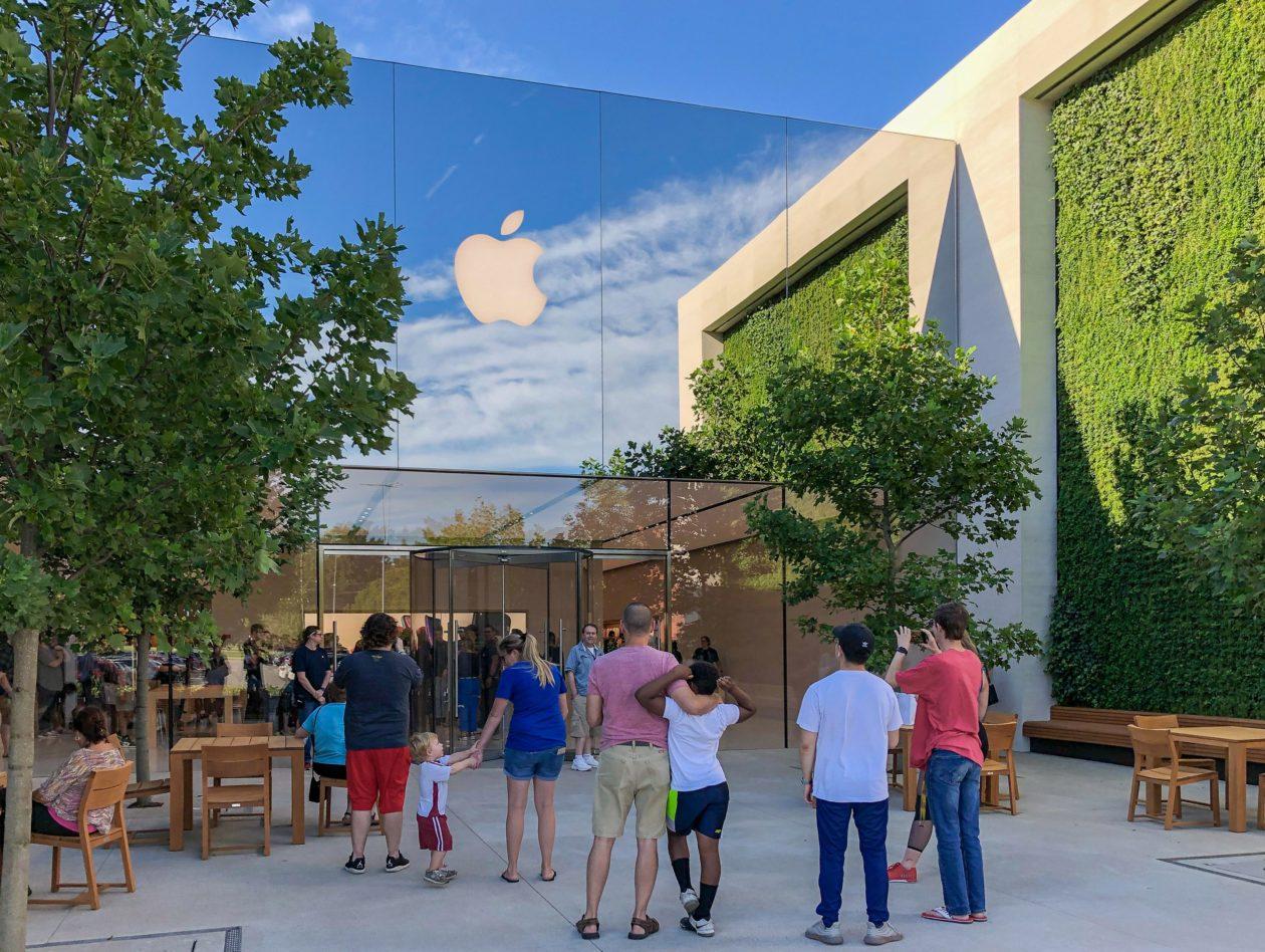 Exterior da Apple Oxmoor