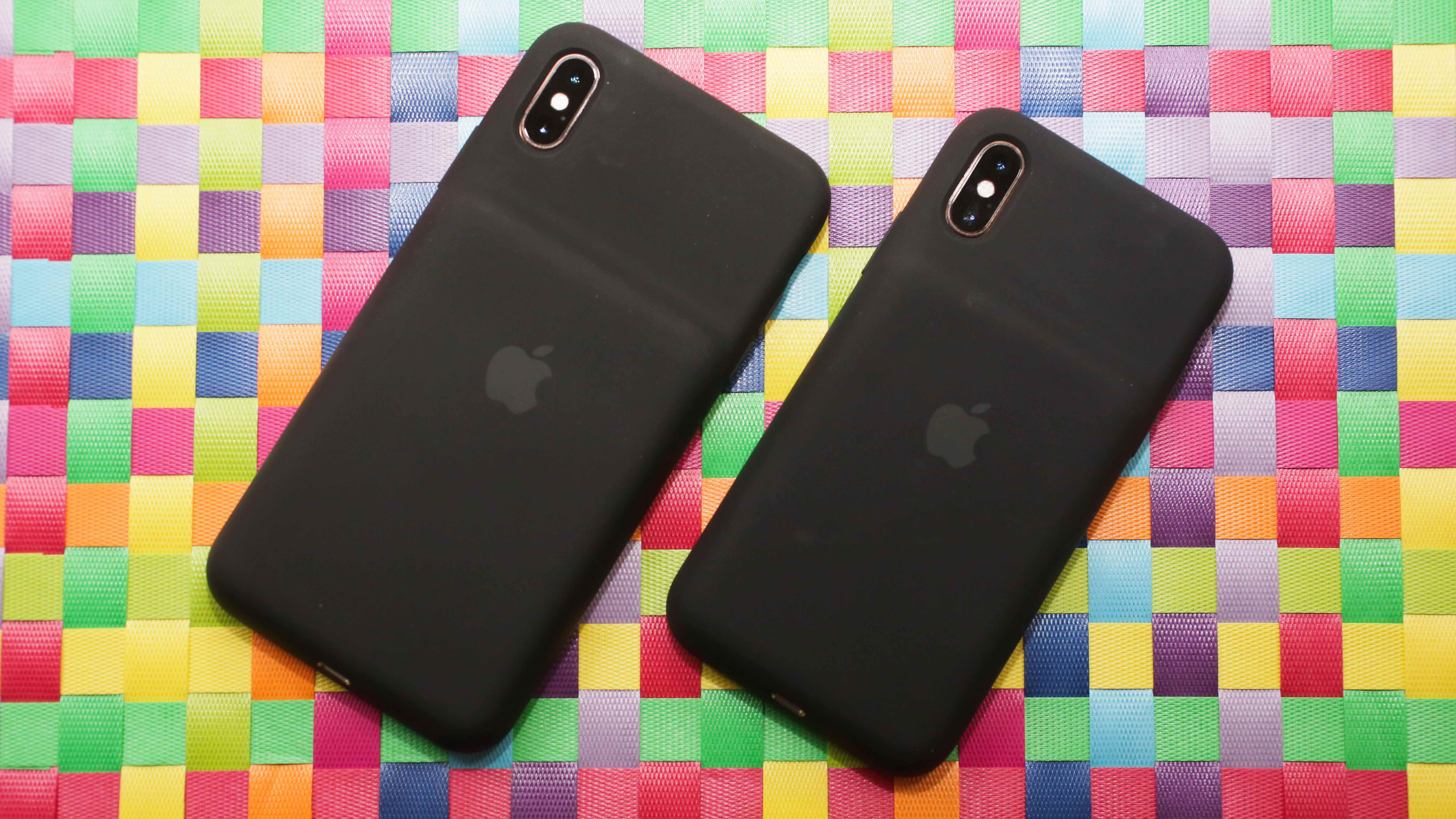 Smart Battery Case para iPhones XS e XS Max