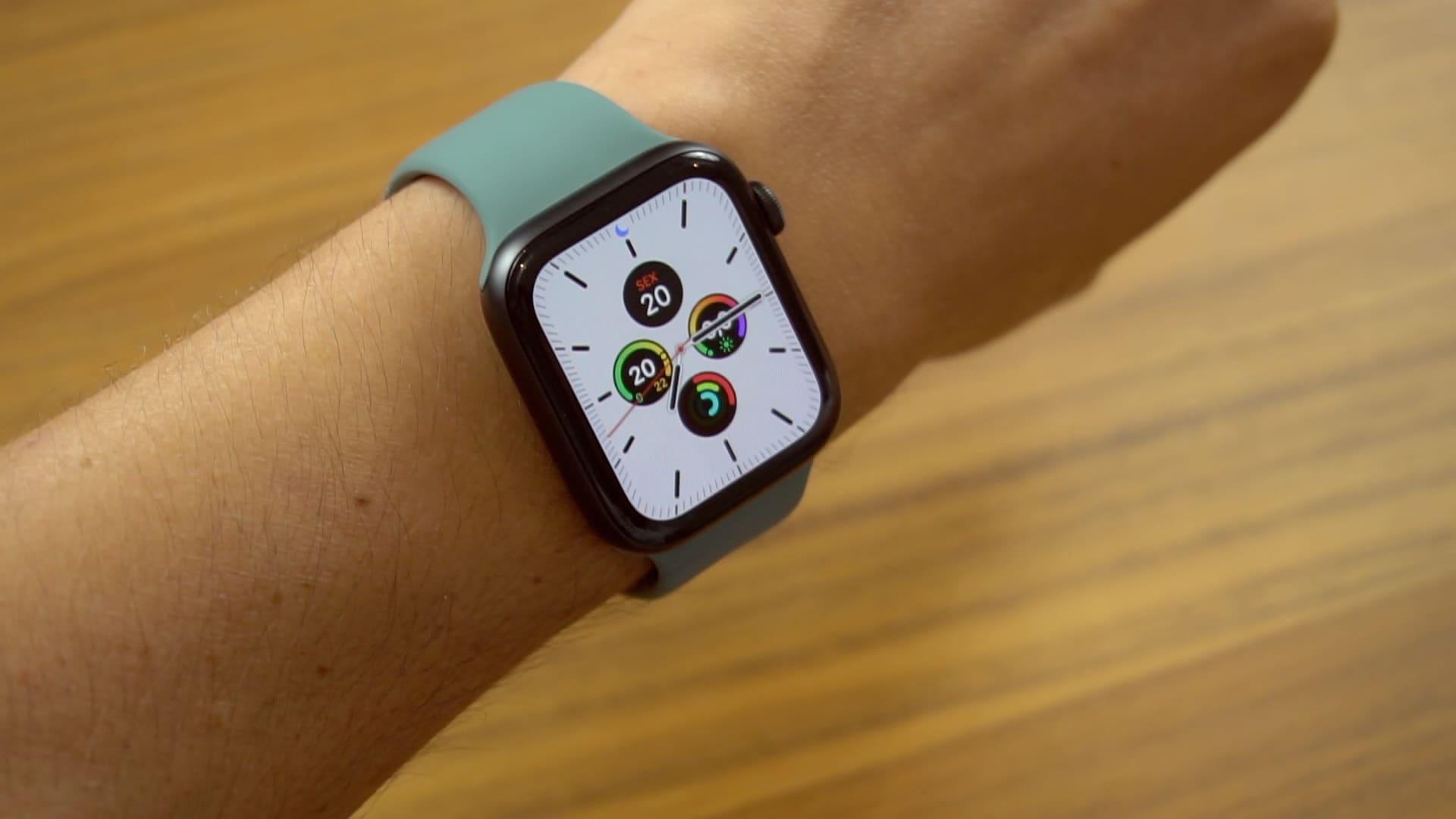 Novidades do Apple Watch Series 5