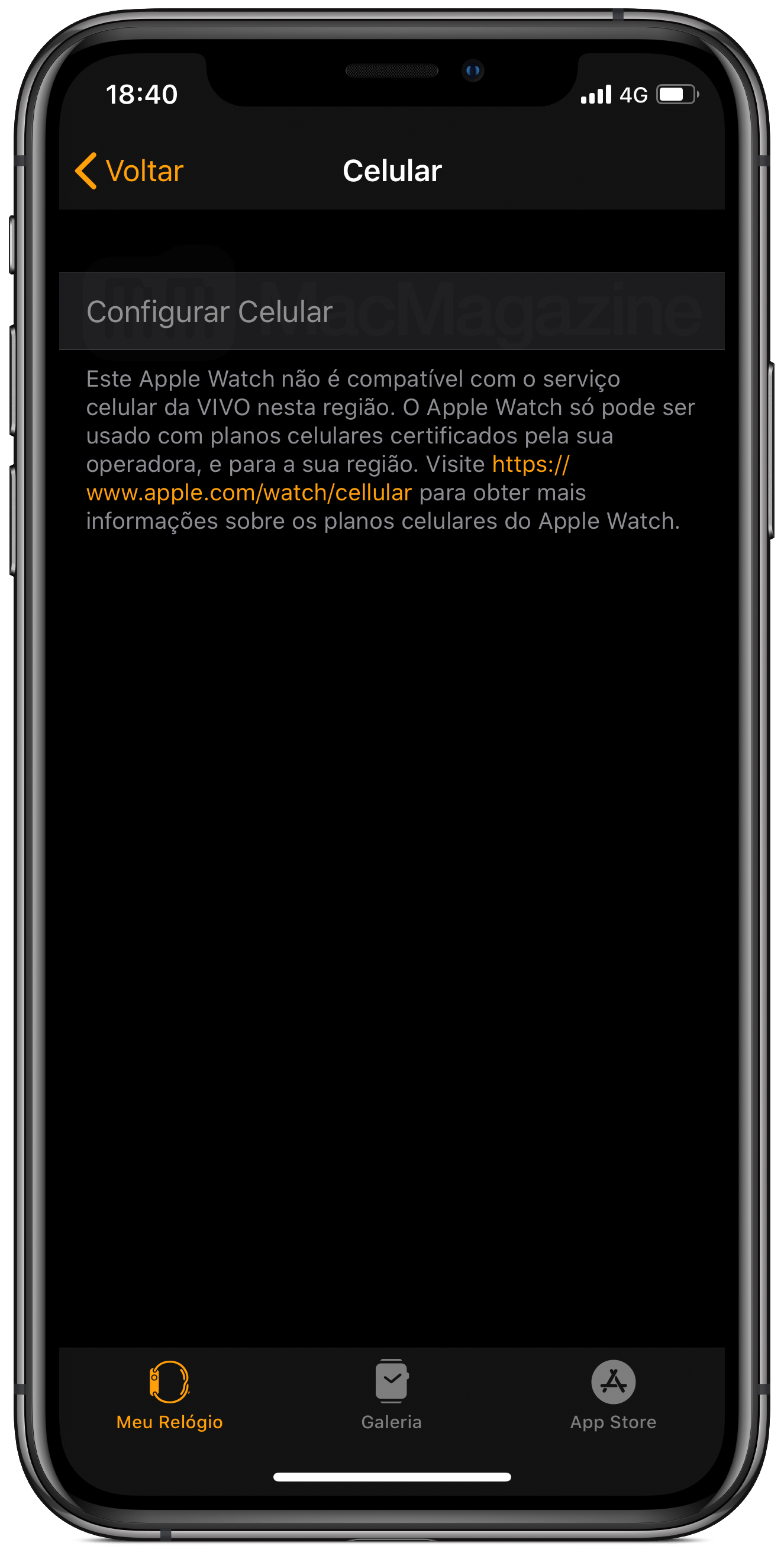 Apple Watch Series 5 americano limitado no Brasil
