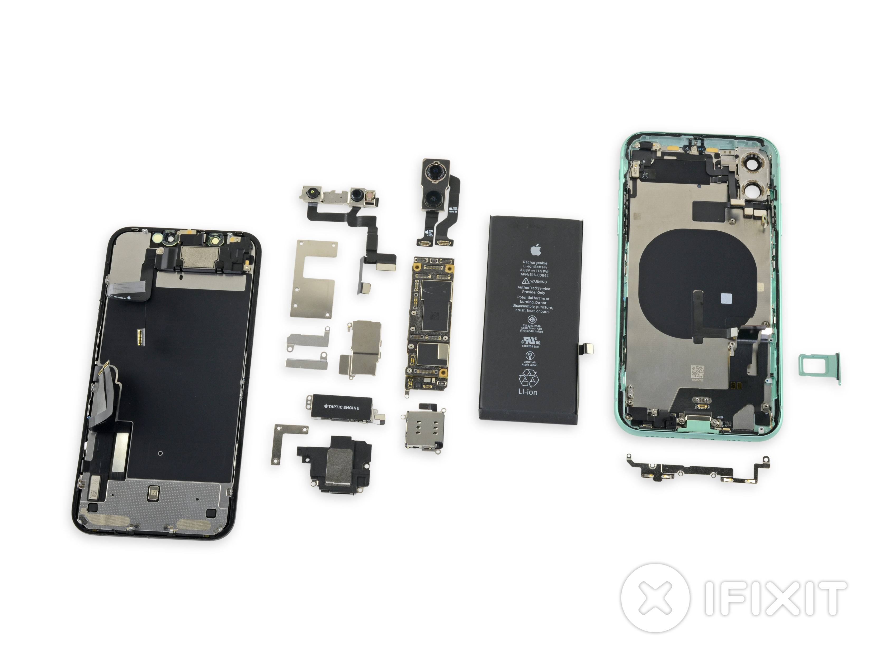 Desmonte do iPhone 11, iFixit