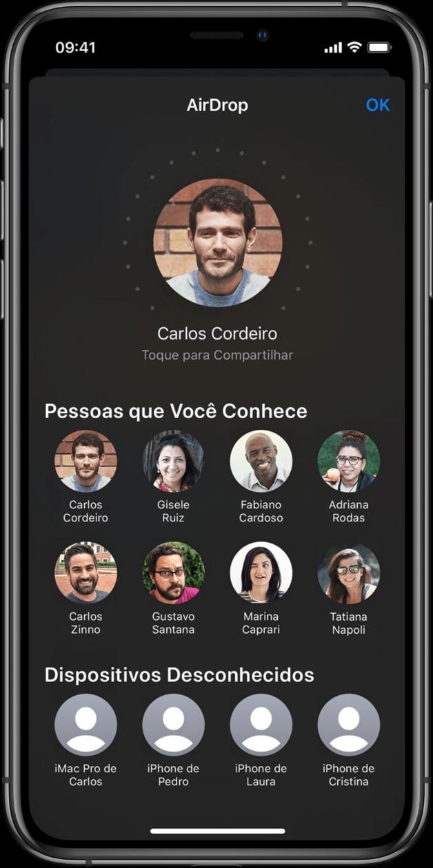 AirDrop no iOS 13.1