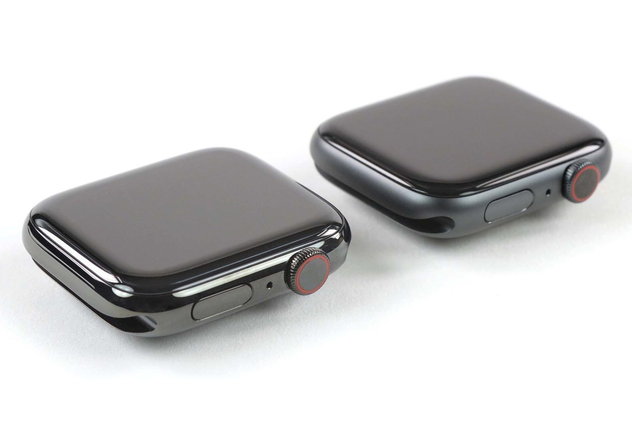 Display do Apple Watch Series 5 vs. Series 4