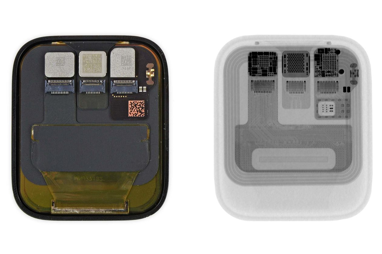 Tela do Apple Watch Series 5