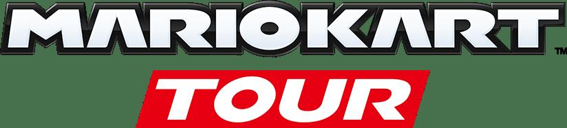 Logo do jogo Mario Kart Tour