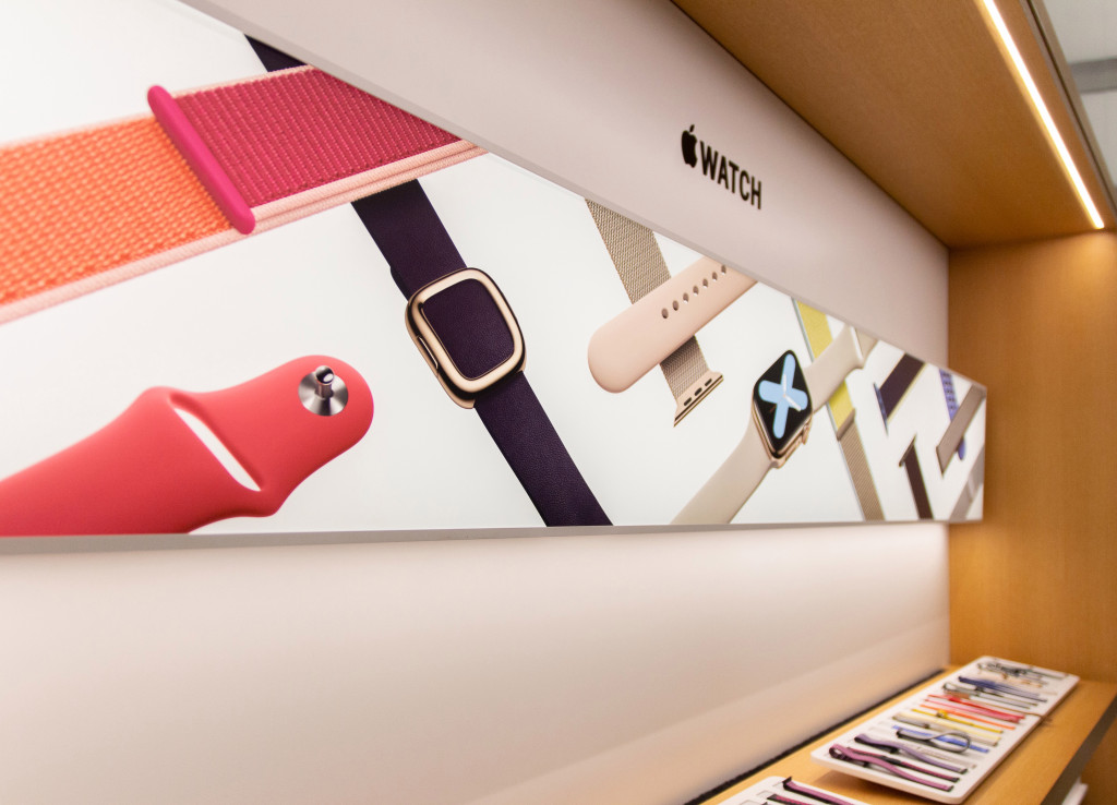 Novas Avenues das Apple Stores