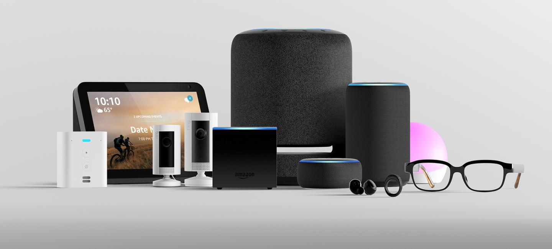 Novos dispositivos Amazon Echo