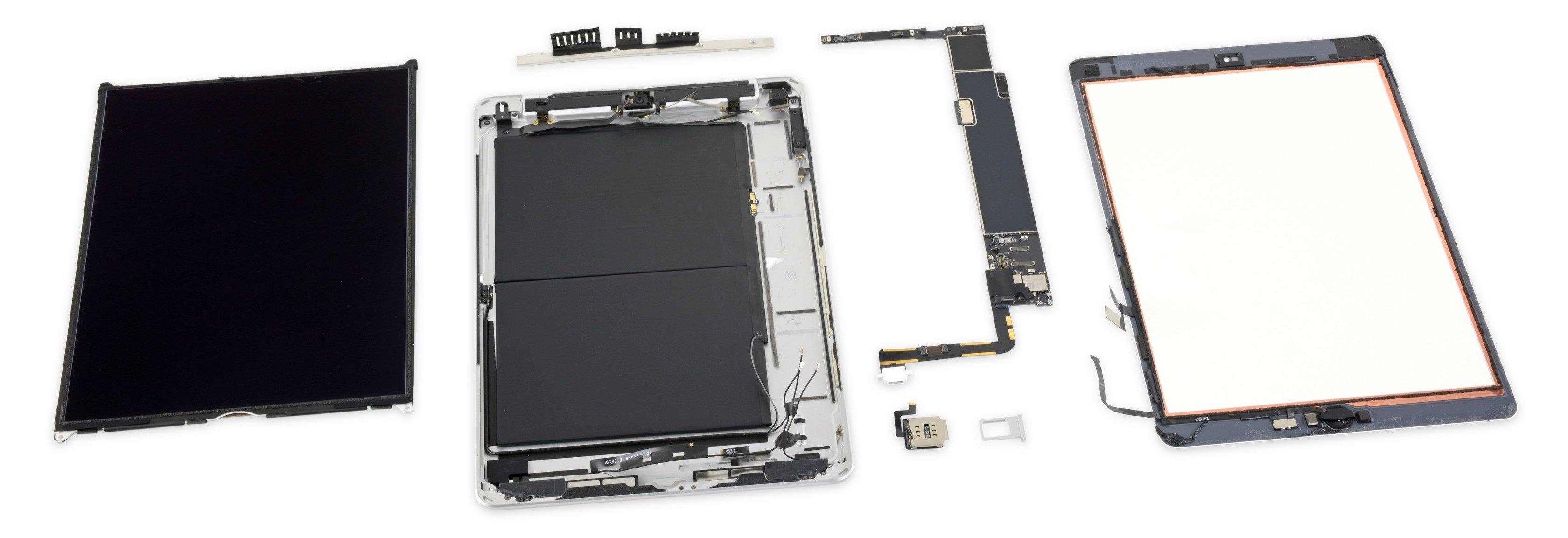 Desmonte do iPad de sétima geração