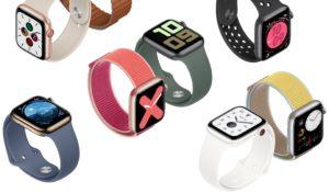 Apple Watch Series 5 em vários modelos e cores