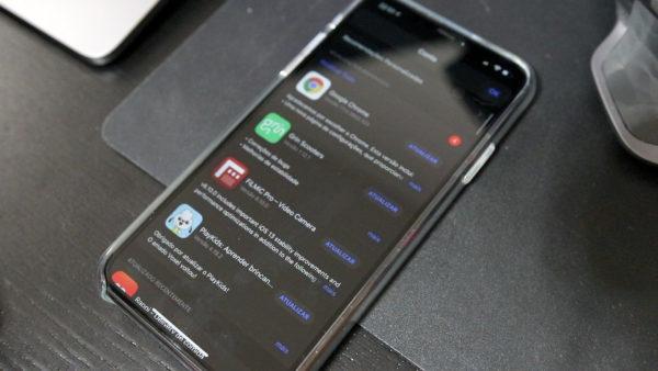 Atualizando apps no iOS 13