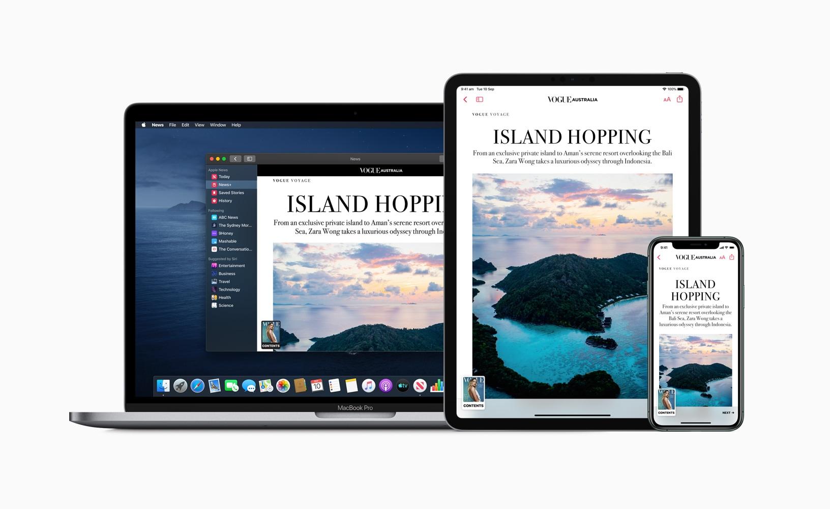Apple News+ na Austrália