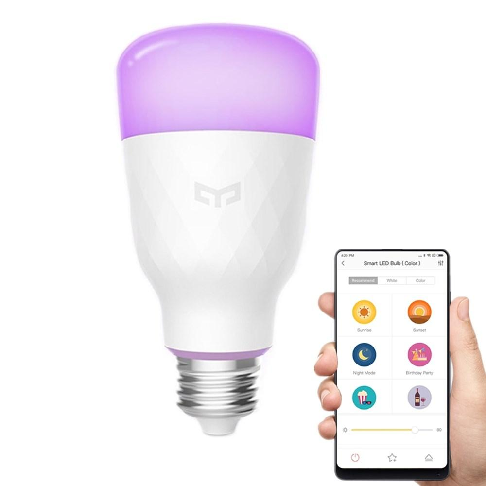 Lâmpadas inteligentes Yeelight, da Xiaomi
