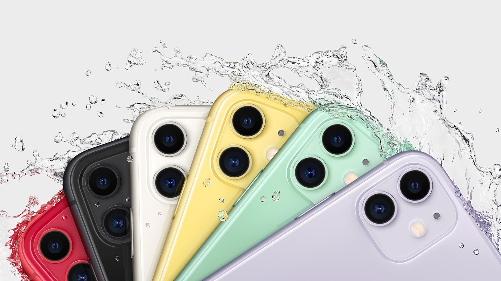 iPhone 11 resistente a água