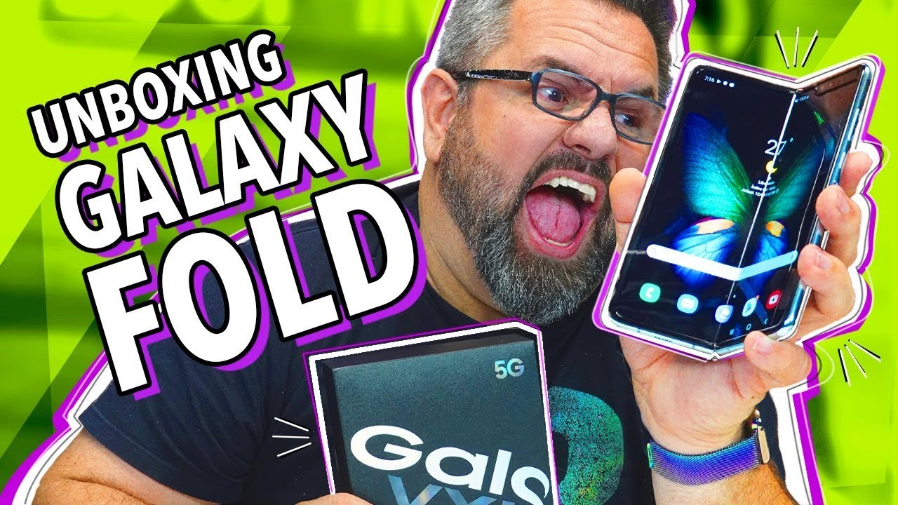 Unboxing do Samsung Galaxy Fold do Loop Infinito