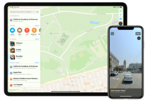 Mapas da Apple no iOS