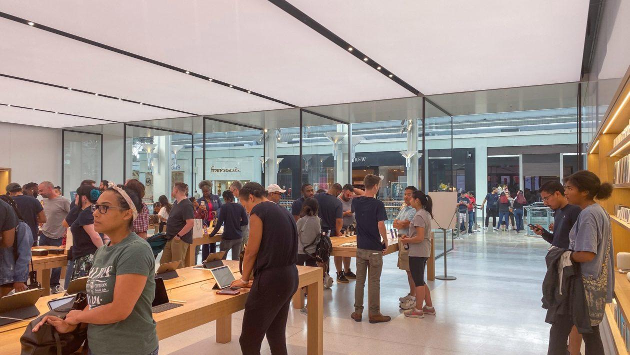 Interior da Apple Columbia