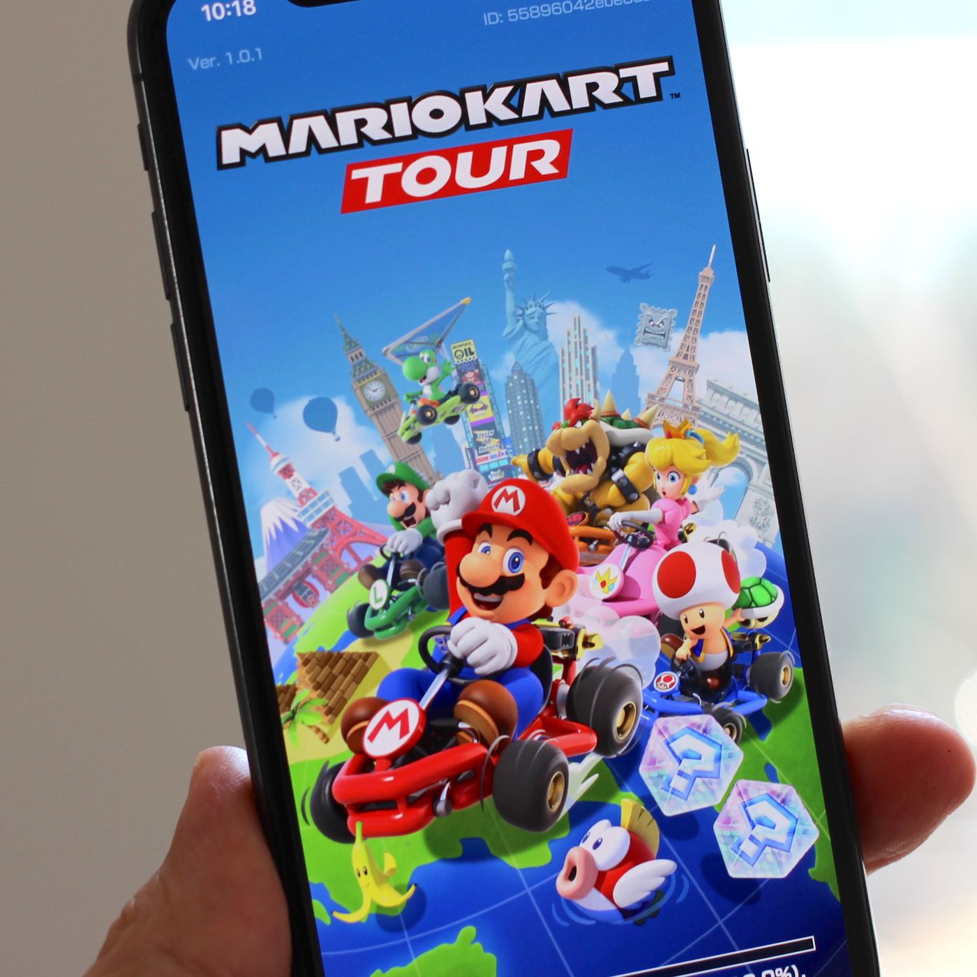 Mario Kart Tour no iPhone