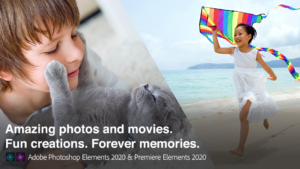 Adobe Photoshop e Premiere Elements 2020