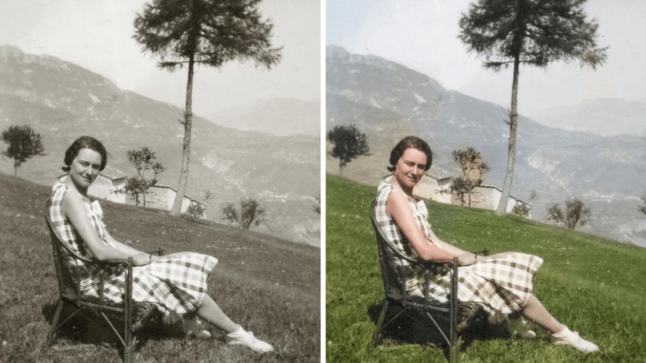 Colorir fotos automaticamente no Photoshop Elements 2020