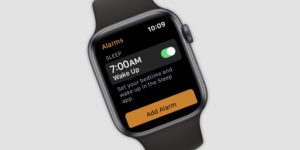 Recurso do app Sono para Apple Watch