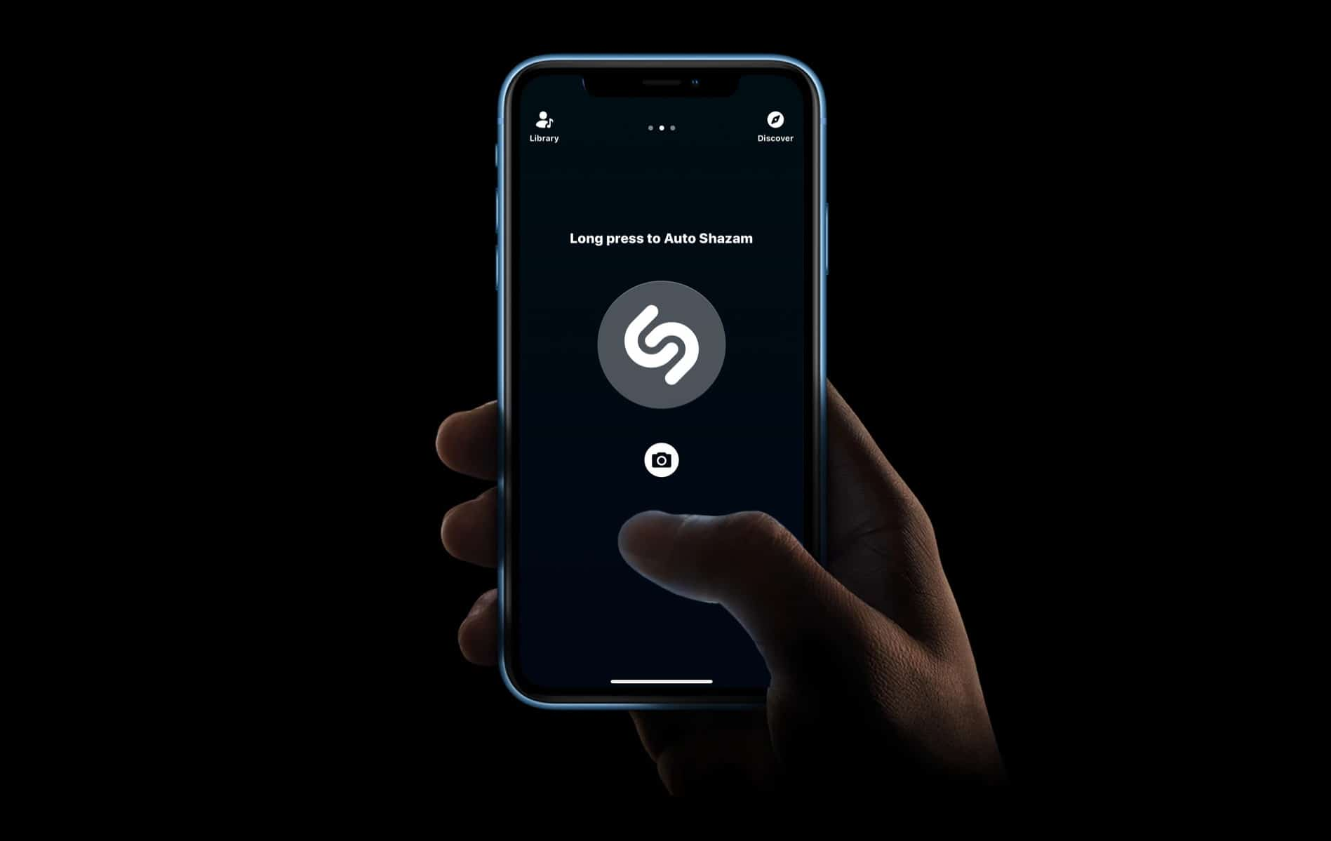 Shazam no iPhone