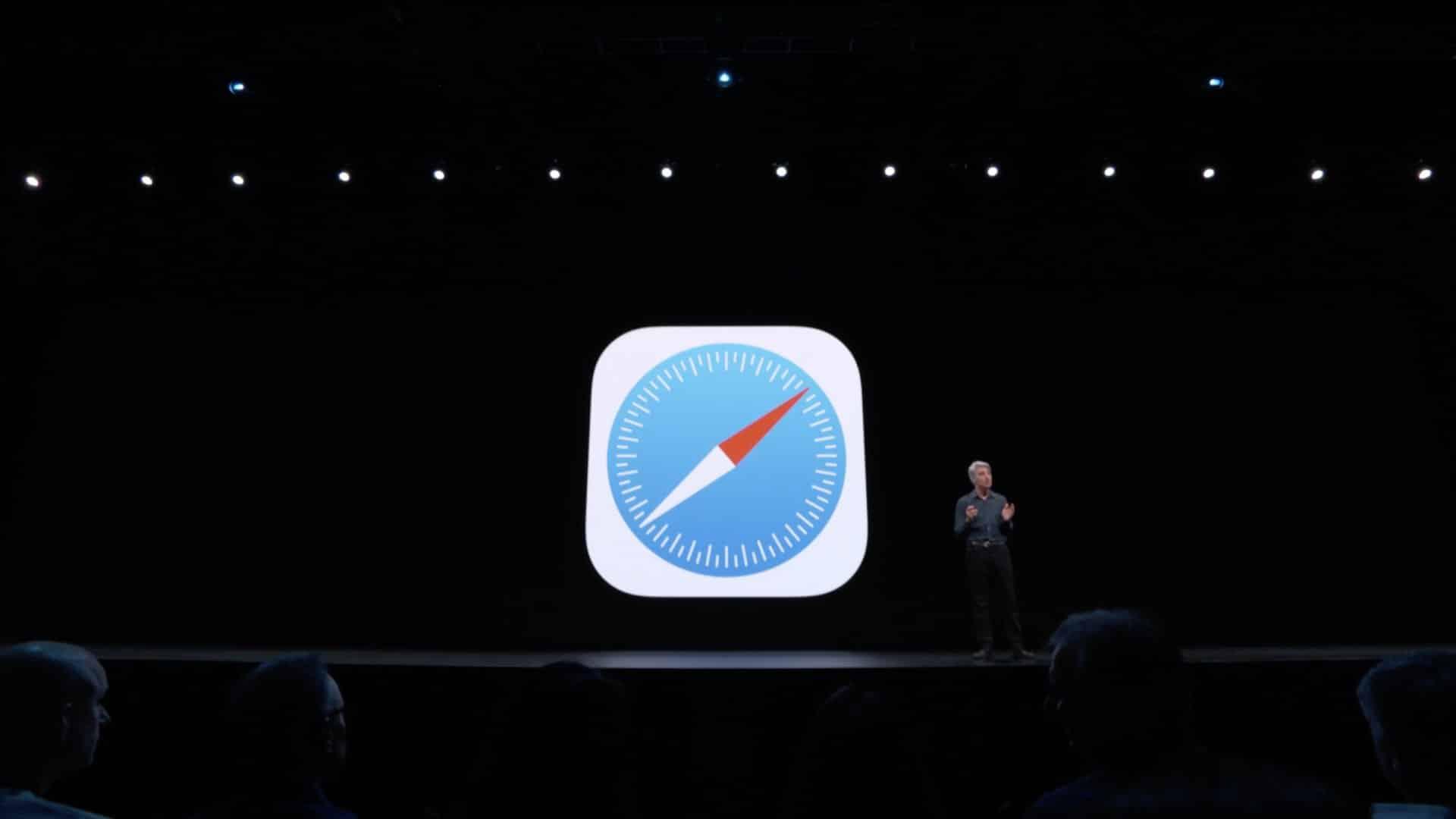 Apresentação do Safari 13 na WWDC19