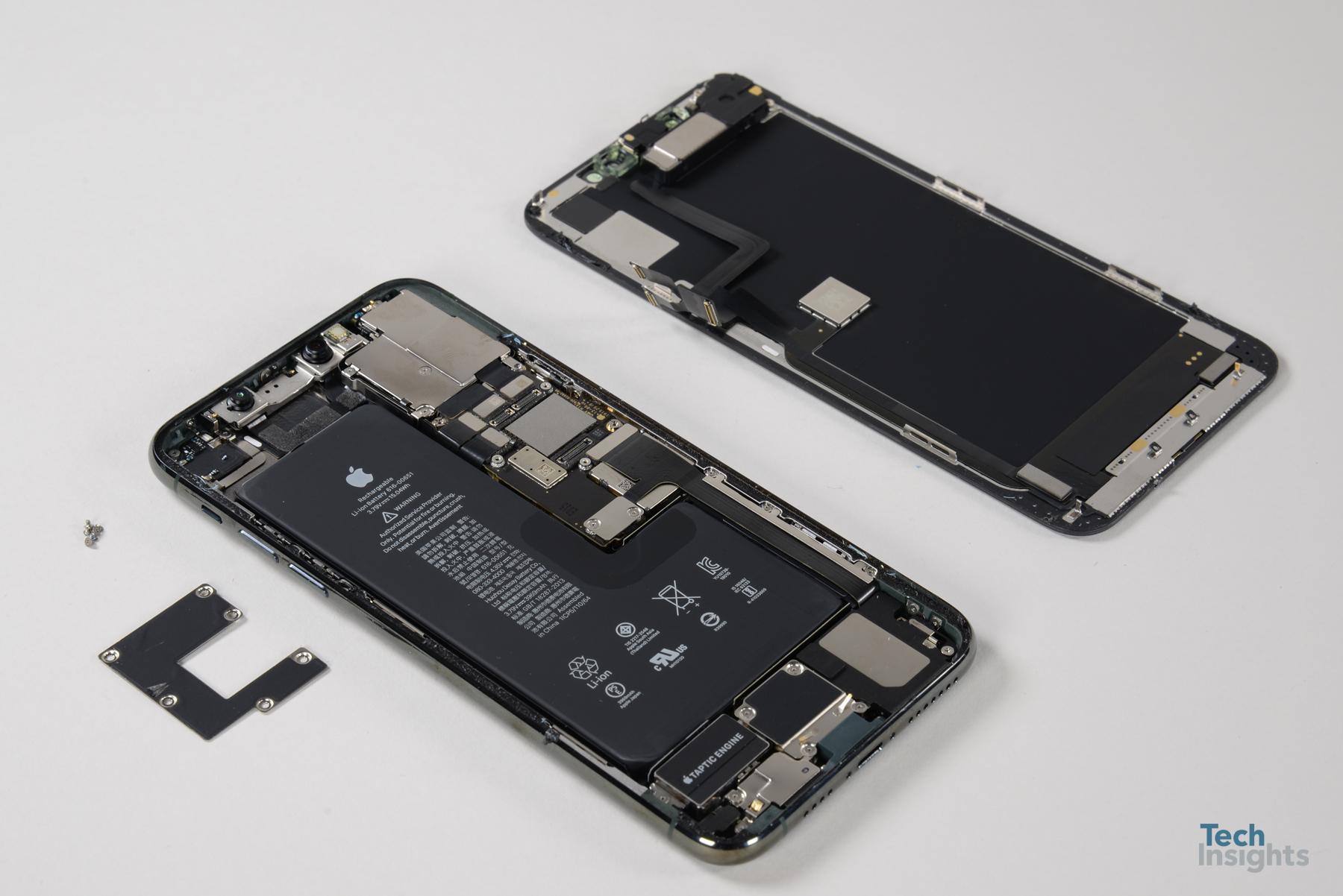 iPhone 11 Pro Max desmontado