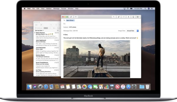 Mail no macOS Catalina