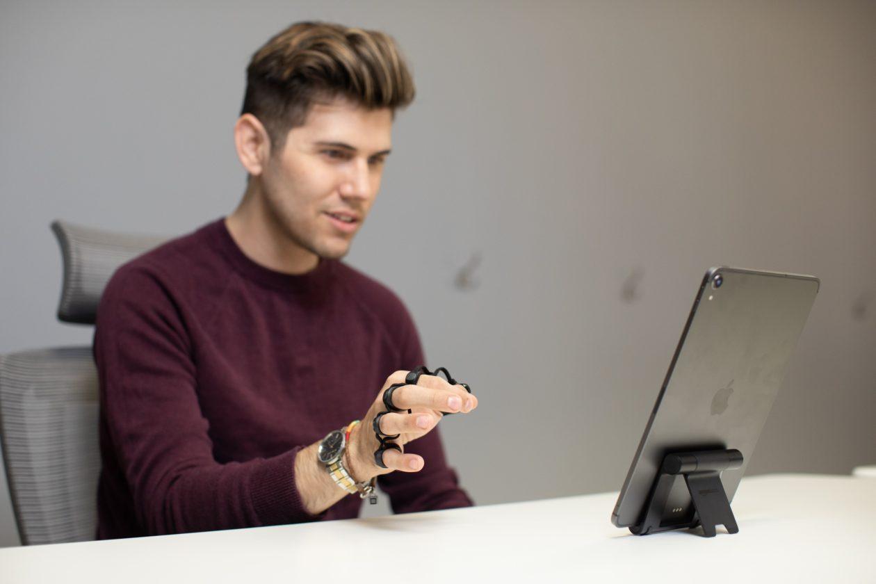 Usando o Tap com o iPad