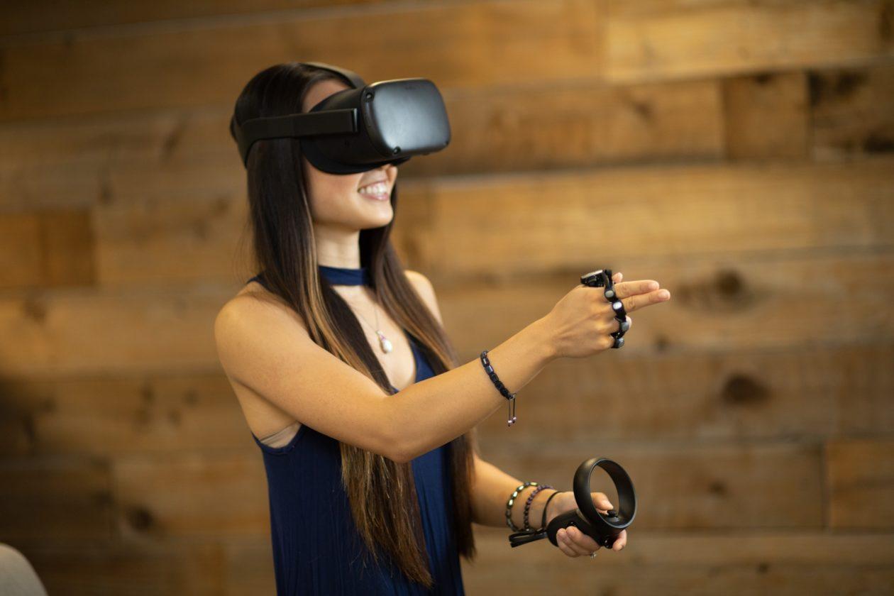 Tap e realidade virtual