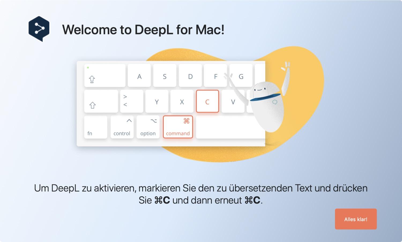 DeepL para Mac